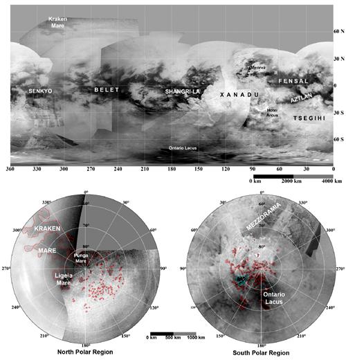 mapa titan