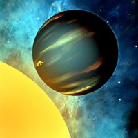 planeta gigante caliente