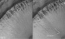 depositos marcianos en crater
