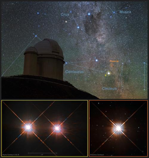 Resultado de imagen de Enviaran un gran telescopio espacial hasta Alpha Centauri